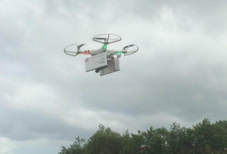 Delivery Drones - Ultimate Drone Fishing