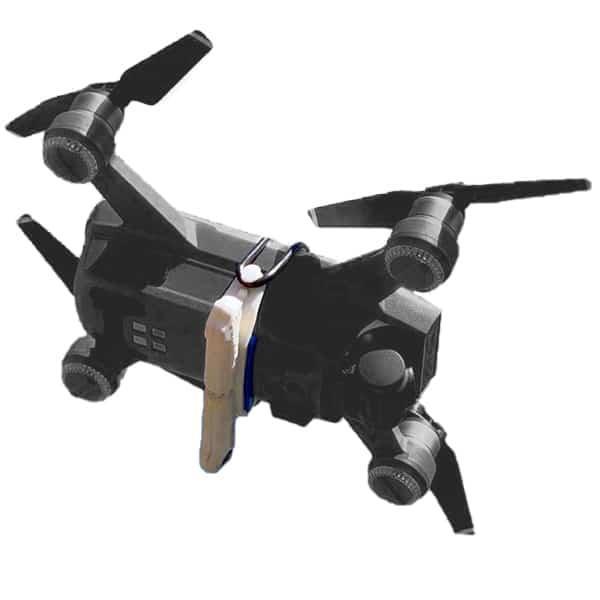 Ultimate Drone Fishing - DJI Spark bait release by Gannet