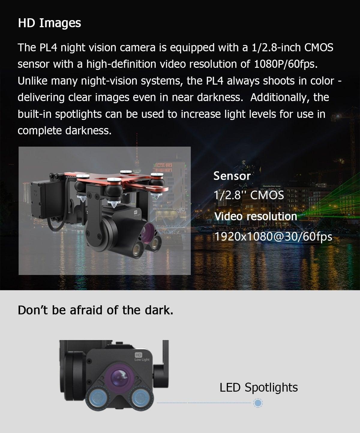 PL4 HD Images and Sensor