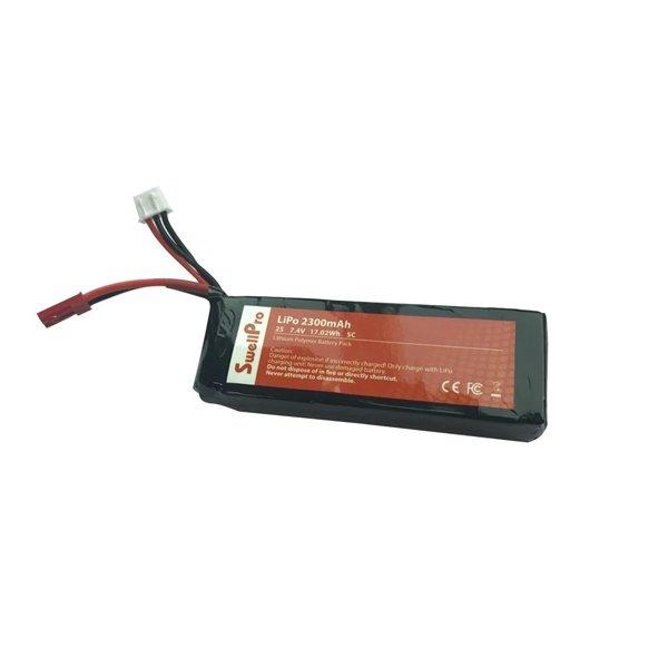 Swellpro waterproof drone Radio Controller Battery (2s 2300mah Lipo Battery)