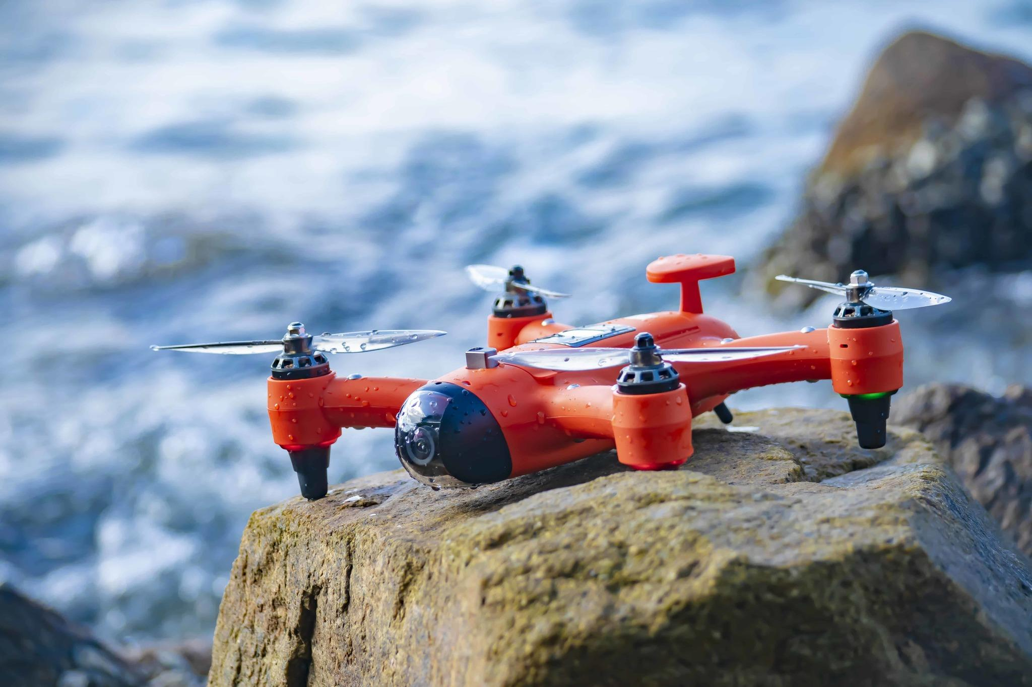 Ultimate Drone Fishing - Spry Waterproof Drone