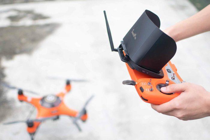 SplashDrone 3+ Waterproof Drone Remote Controller Sun Shade