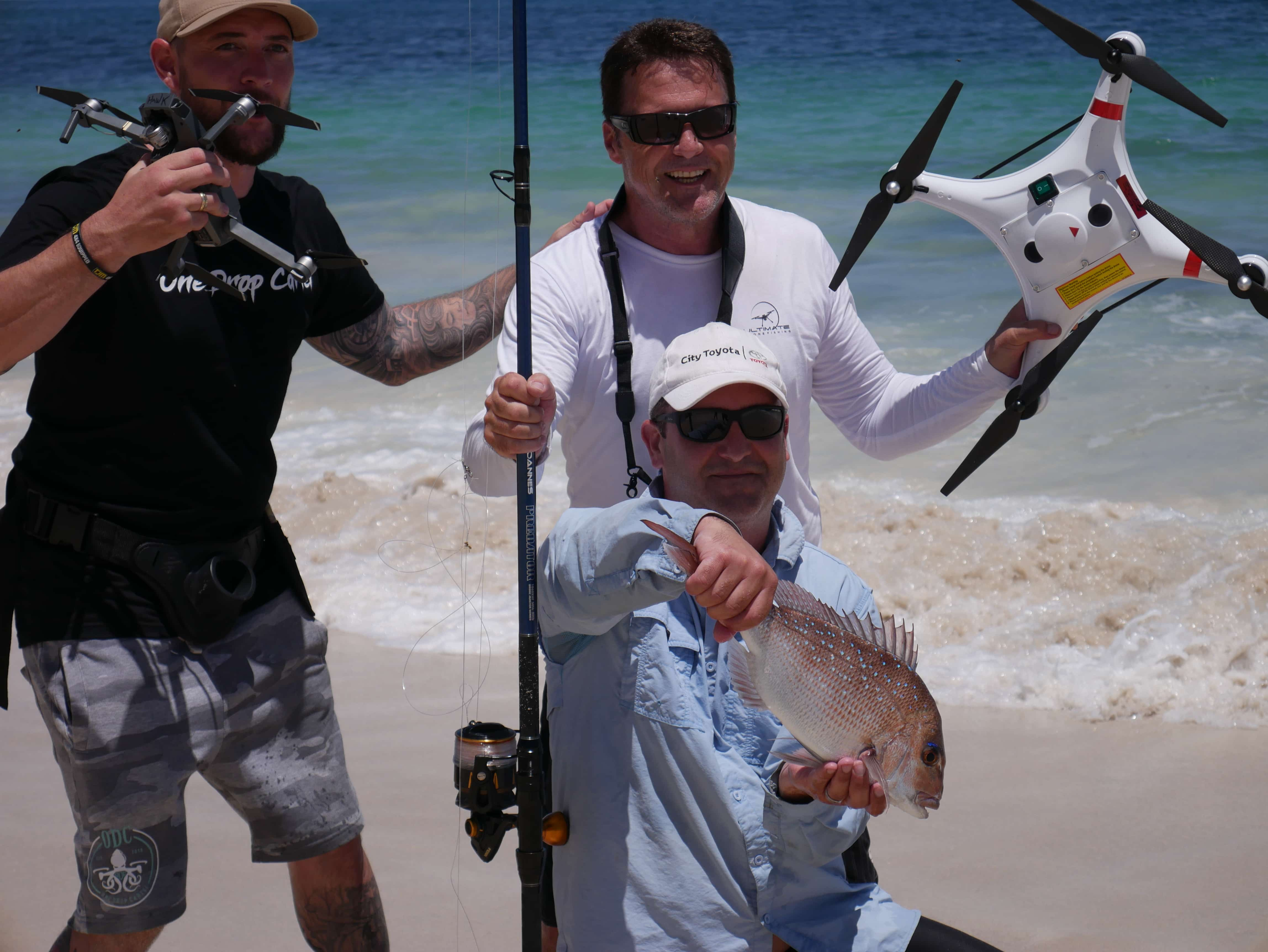 Ultimate Drone Fishing Team
