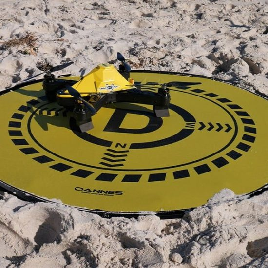 OANNES Drone Fishing Landing Pad Dimensions