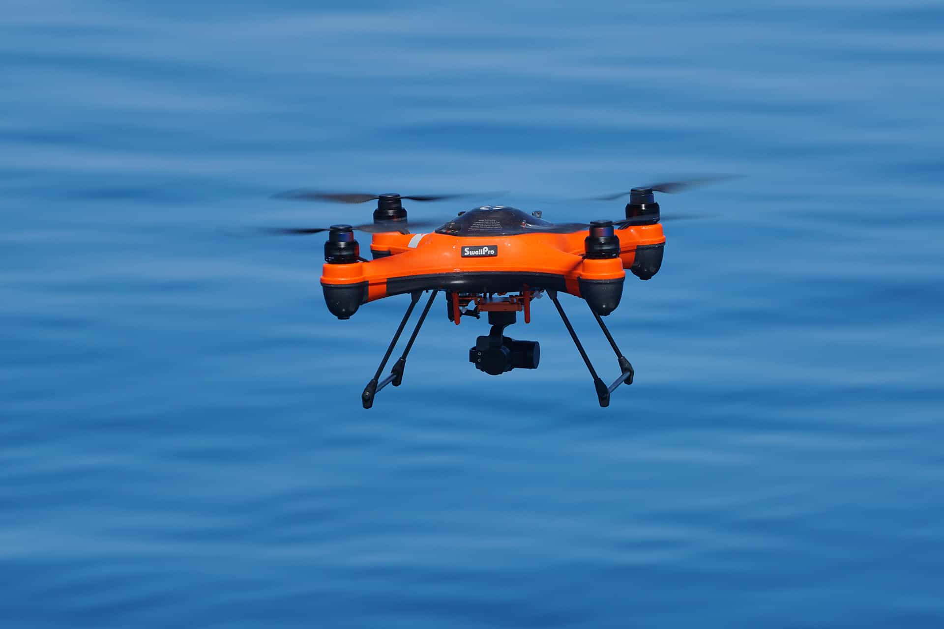 Swellpro Splashdrone 3+ in action