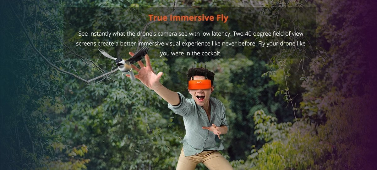 S3 FPV GOGGLES Immersive Fly