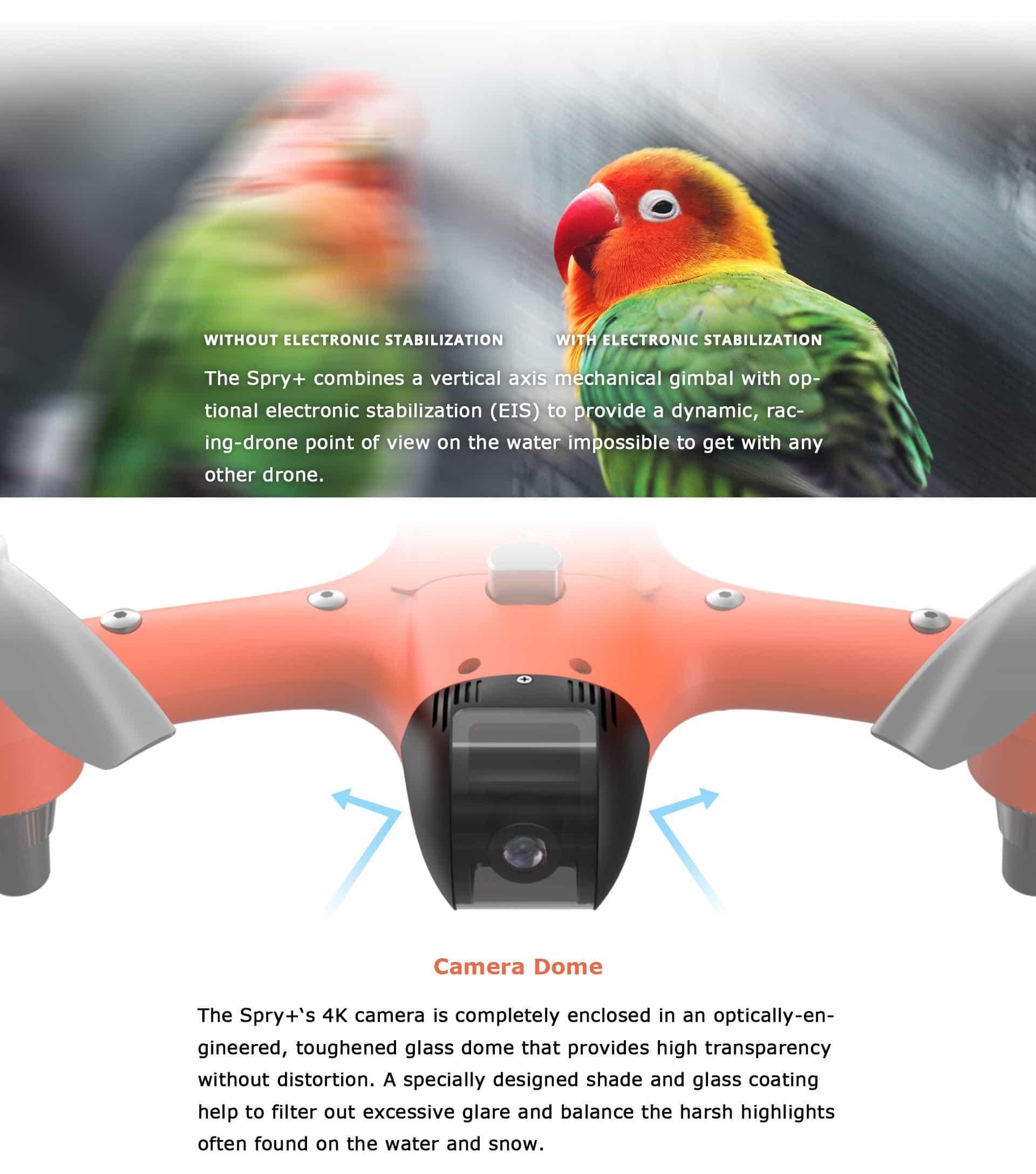 SwellPro - Spry+ Camera