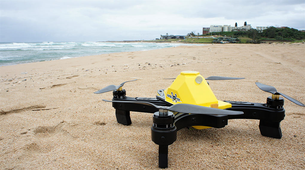 Cuta-Copter EX-1 - The Ultimate Fishing Drone