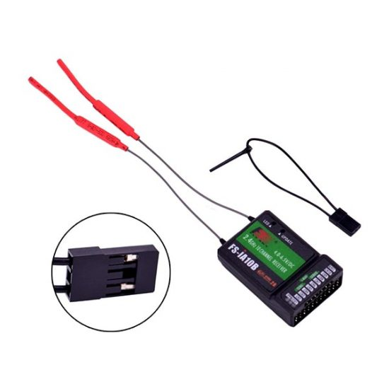 Poseidon Pro 2.4ghz 10 Channel receiver