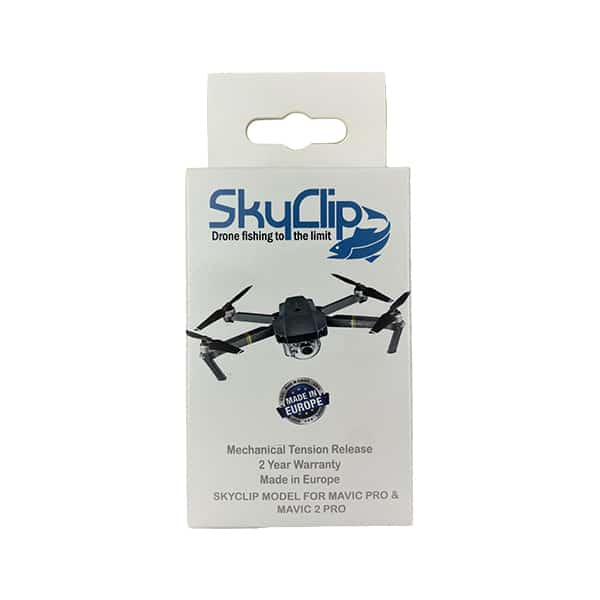 SkyClip drone fishing Bait release for DJI Mavic and Mavic 2 Drones
