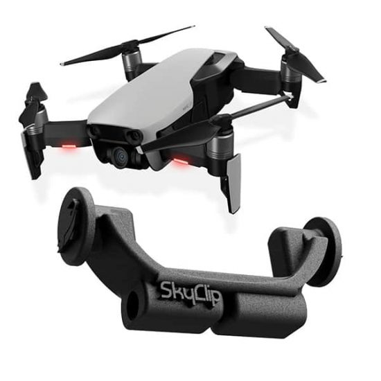 SkyClip Bait release for DJI Mavic AIR Drones
