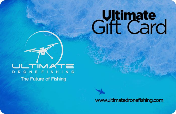 UDF Drone Fishing Gift Card