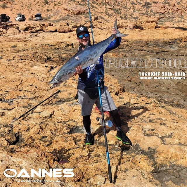 OANNES Drone Fishing Rod - Predator