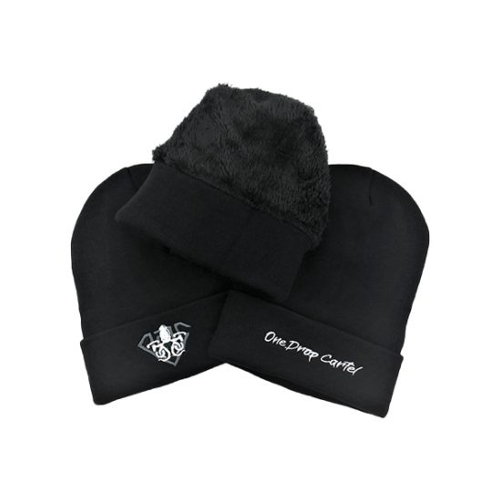 One Drop Cartel Black Beanie