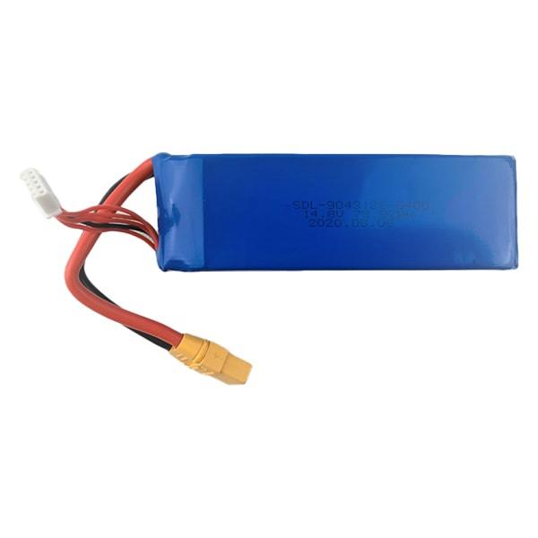 4S 5400mAh 14.8V LiPo Battery
