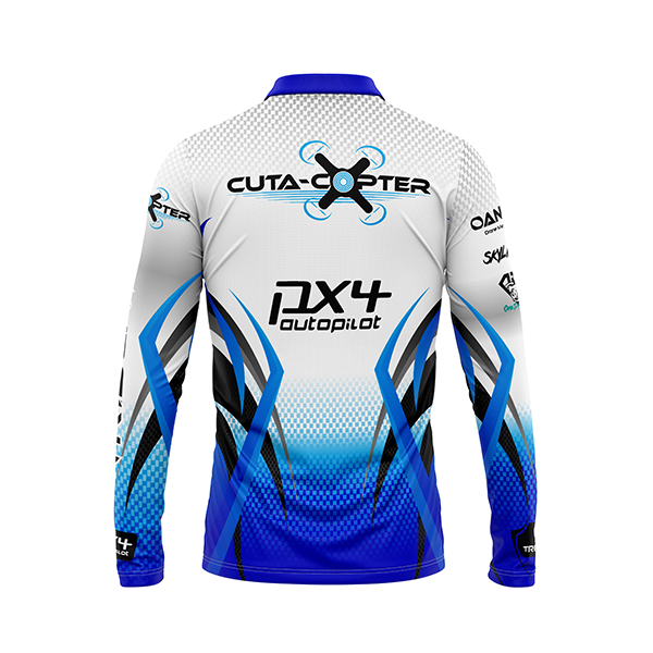 Cuta-Copter Trident Shirts Back