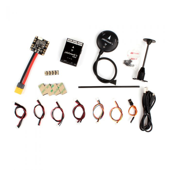 Cuta Copter - Pixhawk 4 Mini aluminium/GPS and PM06 02