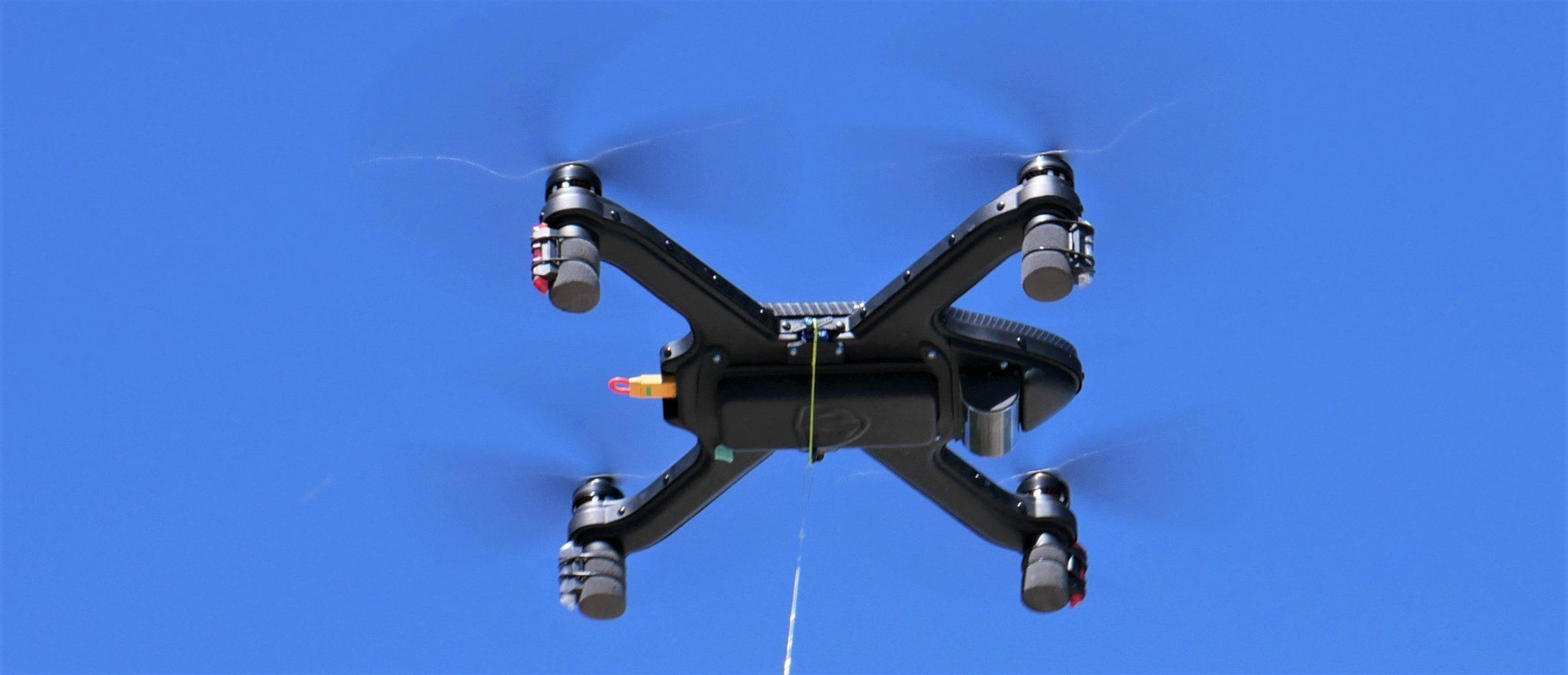 Cuta-Copter Drone in hover