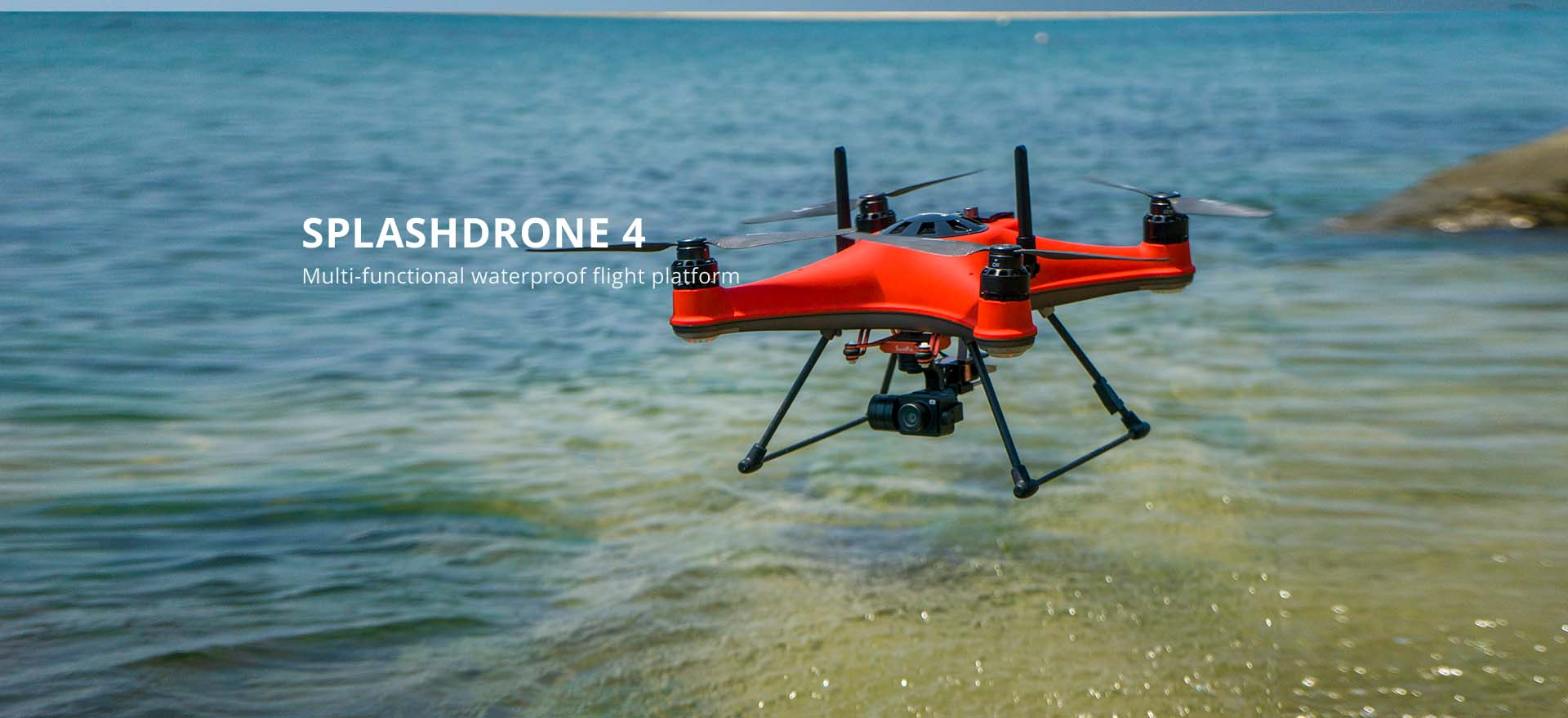 SwellPro SplashDrone 4 - Introduction to the Drone